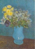 DG080 - VINCENT VAN GOGH - VASE WITH FLOWERS - UNWRITTEN - IMPRESSIONISM - Paintings