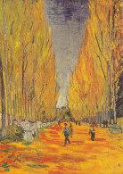 DG082 - VINCENT VAN GOGH - ALYSCAMPS - UNWRITTEN - IMPRESSIONISM - Paintings