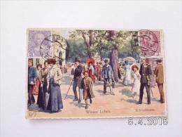 Wiener Leben. - Schönbrunn. (27 - 10 - 1911) - Castello Di Schönbrunn