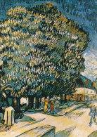 DG087 - VINCENT VAN GOGH - CHESTNUT TREES - UNWRITTEN - IMPRESSIONISM - Paintings