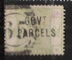Grande-Bretagne 1883 YT Service N° 25 Obl Fausse Surcharge - Oficiales