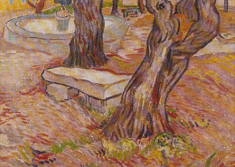 DG094 - VINCENT VAN GOGH - THE STONE BENCH - UNWRITTEN - IMPRESSIONISM - Paintings