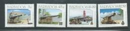 Barbados 1993 Military Cannon Set 4 MNH - Barbados (1966-...)