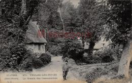 76 - VEULES LES ROSES -  Le Chemin Des Cressonnières - 2 Scans - Autres Communes