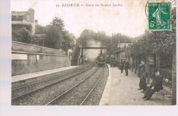LISIEUX . Gare Du Grand Jardin . - Lisieux