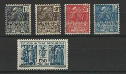 YVERT N°270/274 ** - COTE = 145 EUROS - - Unused Stamps