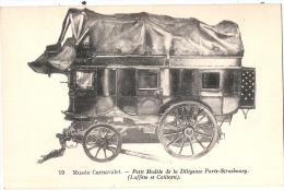 Musée Carnavalet Petit Modele De La Diligence Paris Strasbourg Neuve TTB - Cartes Postales