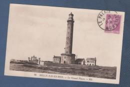 56 MORBIHAN - CP BELLE ILE EN MER - LE GRAND PHARE - ND N° 66 - CIRCULEE EN 1935 - Belle Ile En Mer