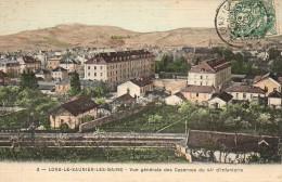 39 LONS-le-SAUNIER-les-BAINS  Vue Générale Des Casernes Du 44e D'Infanterie - Lons Le Saunier