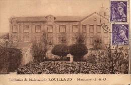 91 MONTLHERY  Institution De Mademoiselle  Rouillard - Montlhery