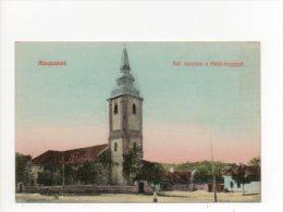 Abaújszántó Ref.templom A Fehér-heggyel - Ungarn