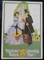 Postcard, Bier, Beer, Löwenbräu, Brewery - Postkaarten