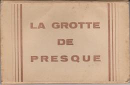 CARNET  12 CPA - 46 - GROTTE DE PRESQUE - France