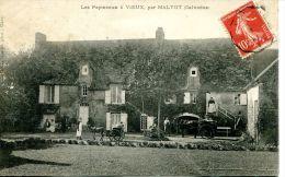 N°5855A -cpa Les Papineaux à Vieux Par Maltot - Francia