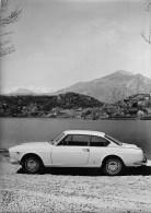 "01366 ""LANCIA FLAVIA COUPE´ 2 + 2 - CARROZZERIA PININFARINA - TORINO""  FOTOGRAFIA ORIGINALE. - Automobili"