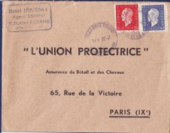 France N°693 Et 686 - 1945. TB - 1944-45 Maríanne De Dulac