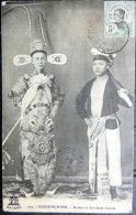 VIETNAM  INDOCHINE COCHINCHINE  ACTEUR ET ACROBATE CHINOIS SPECTACLE LOISIRS  COMEDIE CIRQUE - Viêt-Nam