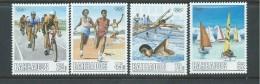 Barbados 1988 Olympic Games Set 4 MNH - Barbados (1966-...)