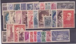 1939 Année Complète - Timbres Neufs** LUXE - ....-1939