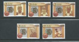 Barbados 1988 Cricket Sport Set 5 MNH - Barbados (1966-...)