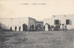 CPA - Sefrou - Entrée Du Fort Prioux - Marruecos