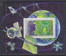Mongolia 1988 Space M/s ** Mnh (20928) - Mongolië