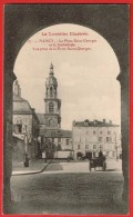 Nancy  La Place Saint-Georges Et La Cathédrale .Vue Prise De La Porte Saint-Georges - Nancy