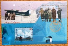 2005 Argentina Stamp Mint-CTO Sheet-Antartic No MIN-663. - Stamps