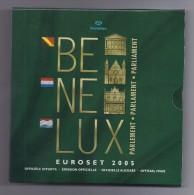BELGIE -BELGIQUE EUROMUNTEN BU-set 2005 -  BENELUX - Belgique