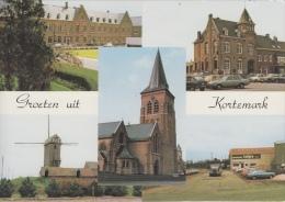 Kortemark    Groeten Uit Kortemark  Molen Kerk     Nr 1974 - Kortemark