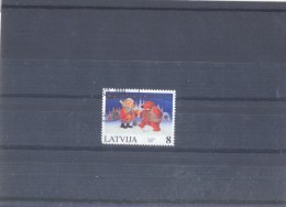 Used Stamp Nr.471 In MICHEL Catalog. - Latvia