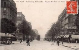 Cpa  75  Paris 11 Eme , Faubourg St-antoine , Vue Prise De La Place De La Nation - Arrondissement: 11