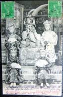 VIETNAM INDOCHINE COCHINCHINE SAIGON GROUPE D'ACTRICES DU THEATRE ANNAMITE EN TENUE SPECTACLE LOISIR - Viêt-Nam