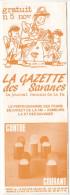 Rennes 35 France - Dépliant Journal De Radio Libre FM La GAZETTE DES SAVANNES - N° 5 Nov 1985