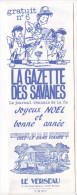 Rennes 35 France - Dépliant Journal De Radio Libre FM La GAZETTE DES SAVANNES - N° 6 Fin 1985 - Livres, BD, Revues