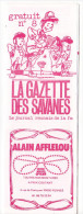 Rennes 35 France - Dépliant Journal De Radio Libre FM La GAZETTE DES SAVANNES - N° 8 Debut 1986 - Livres, BD, Revues
