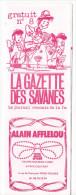 Rennes 35 France - Dépliant Journal De Radio Libre FM La GAZETTE DES SAVANNES - N° 8 Debut 1986