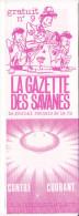 Rennes 35 France - Dépliant Journal De Radio Libre FM La GAZETTE DES SAVANNES - N° 9 été 1986