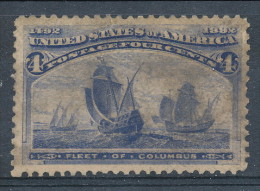 USA 1893. Scott # 233. 4 C  Ultramarine. Columbian Exposition Issue. USED - 1847-99 Emissions Générales