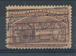 USA 1893. Scott # 234. 5 C  Chocolate. Columbian Exposition Issue. USED - Usados