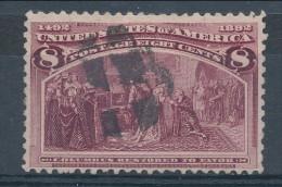 USA 1893. Scott # 236. 8 C  Magenta. Columbian Exposition Issue. USED - 1847-99 Emissions Générales