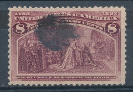 USA 1893. Scott # 236. 8 C  Magenta. Columbian Exposition Issue. USED - 1847-99 General Issues
