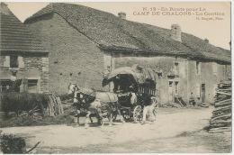 Attelage Diligence En Route Pour Le Camp De Chalons La Cantine N. Nogret - Attelages