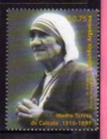 ARGENTINE Mere Teresa. Un T-p Neuf **. Yv.# 2001 - Mother Teresa