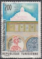 Tunisia, 1976 - 200m Barber's Mosque, Kairawan Andman's Bust - Nr.695 Usato° - Tunisia (1956-...)