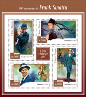 st15107a S.Tome Principe 2015 Cinema Music Stars 100th anniversary of Frank Sinatra s/s
