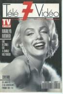 """TELE 7 VIDEO  N° 16  """" MARILYN MONROE """" - JUILLET 1989 - Télévision"""