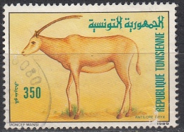 Tunisia, 1989 -  350m Oryx - Nr.962 Usato° - Tunisia (1956-...)