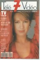 "TELE 7 VIDEO  N° 25  "" NATHALIE BAYE  "" -  SEPTEMBRE 1989 - Télévision"