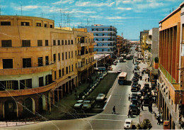 LIBIA   TRIPOLI:  SHARA  EL  RASHID          (VIAGGIATA) - Libya